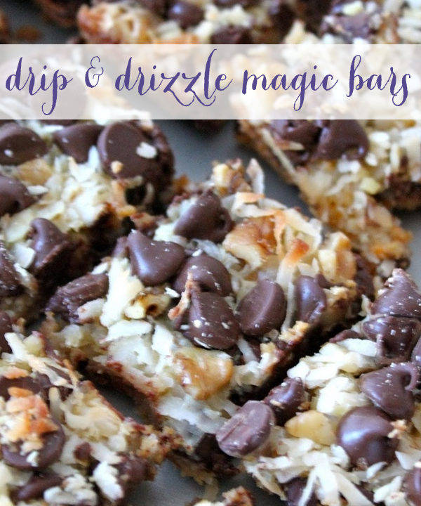 A Favorite Recipe: Drip & Drizzle Magic Bars