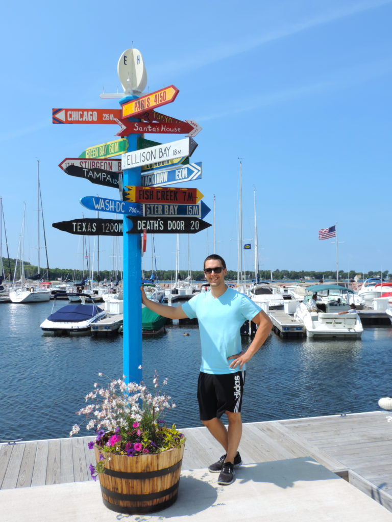 Door County - Egg Harbor - Marina - Kevin