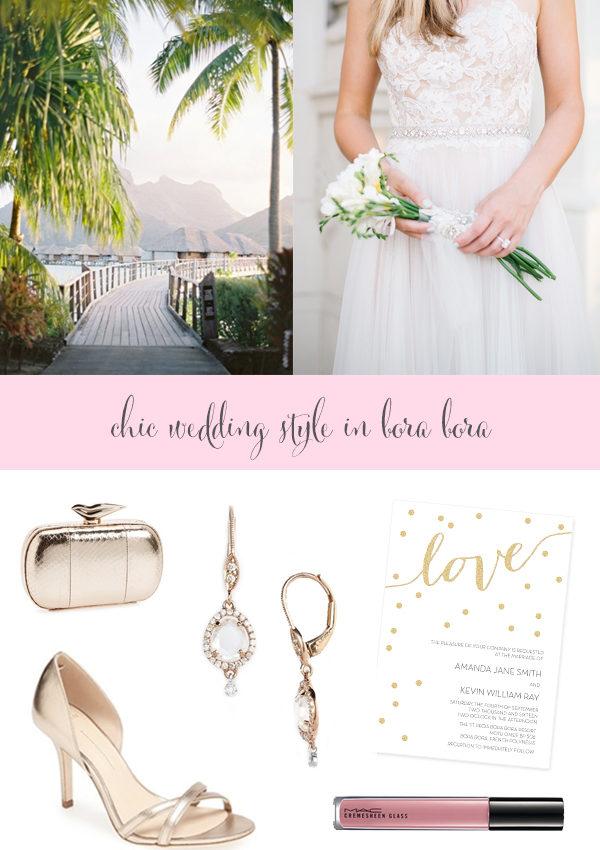 Wedding Inspiration: Bora Bora Style