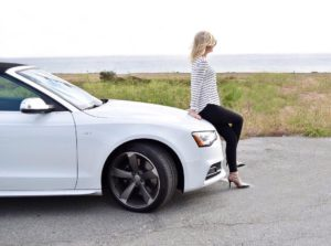 Daydreaming by the ocean  Audi S5 Cabriolet courtesy ofhellip