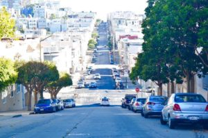The streets of San Francisco!