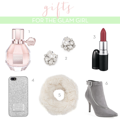 Christmas Gift Guide for the Glam Girl