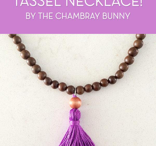 DIY: Boho Chic Interchangeable Tassel Necklace!