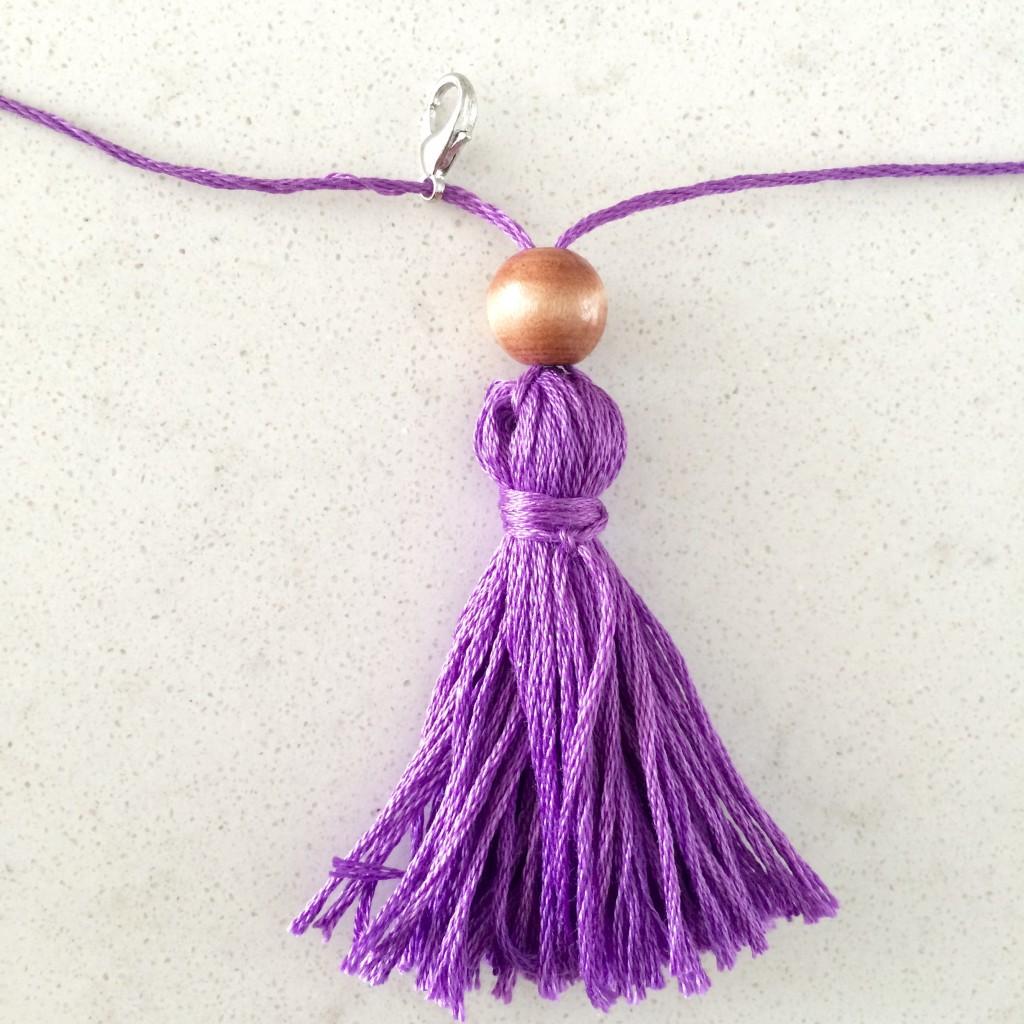 Tassel Necklace 8