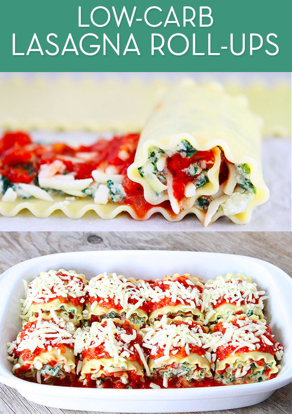 Favorite Recipe: Low-Carb Lasagna Roll-Ups