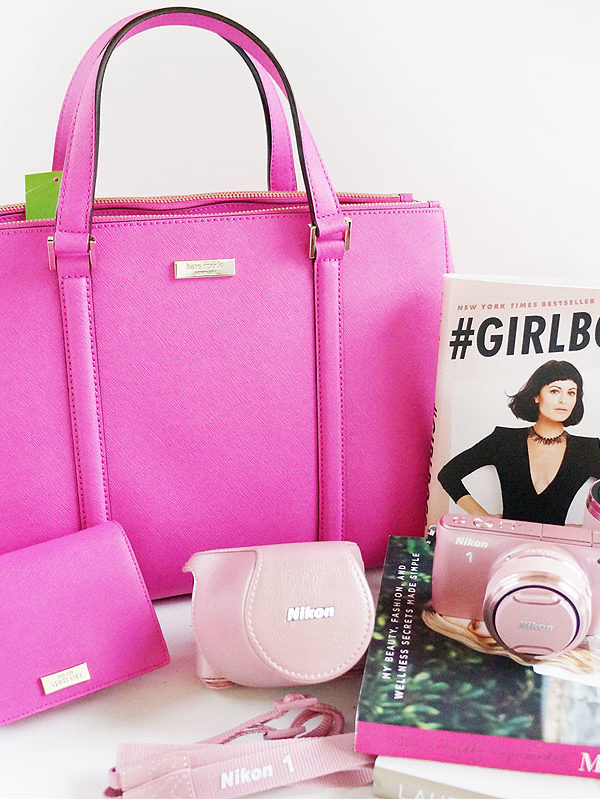 Pink Nikon Camera+Video and Kate Spade Package Giveaway!!