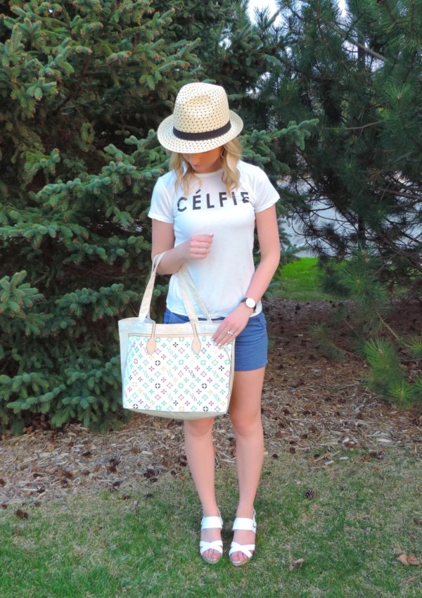 Casual Célfie Featuring Daniel Wellington & My Other Bag