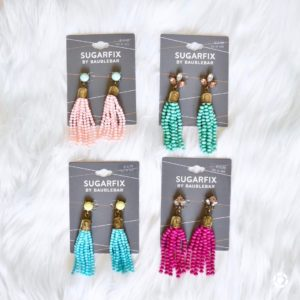 These pretty tassel earrings are on sale for 10 ahellip