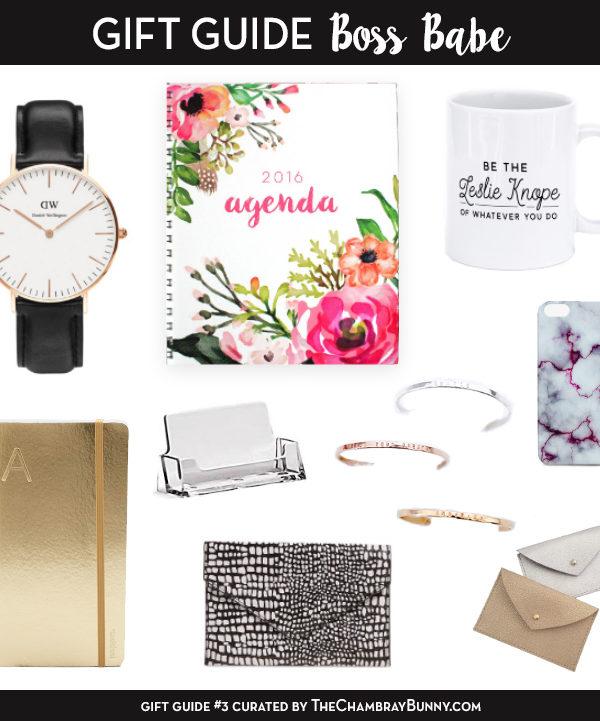 Gift Guide: Boss Babe