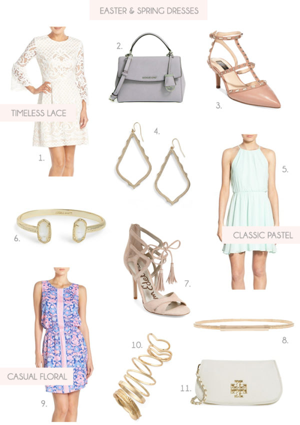 Easter And Spring Dresses + Accessories