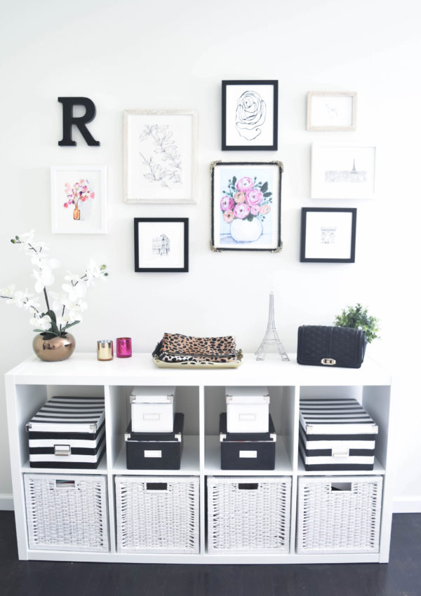 The Blogger Office + Minted Gallery Wall