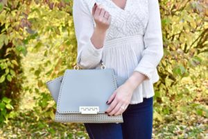 Sharing my new favorite top handbag and gold necklace onhellip