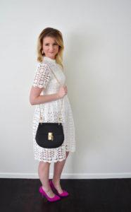 ChicWish Splendid Crochet White Dress 1