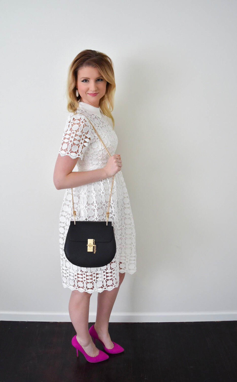 ChicWish Splendid Crochet White Dress 1