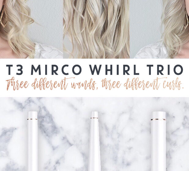 Three Different Curling Wands, Three Different Curls – T3 Micro Whirl Trio Review + Discount Codes!