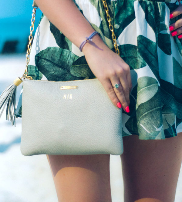 Banana Leaf Shorts + Gigi Crossbody
