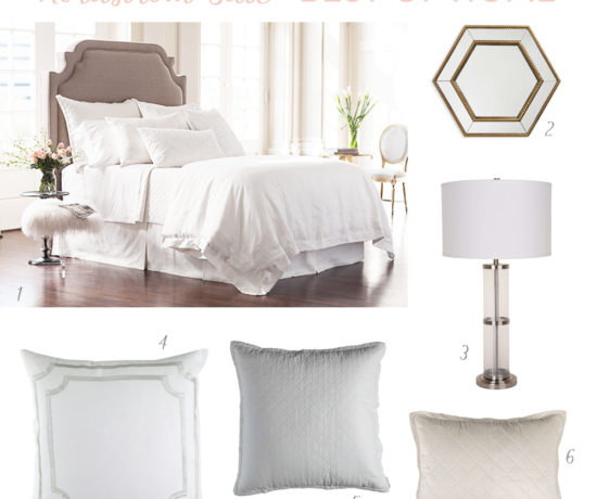 Best of Nordstrom Sale Home #NSALE Home Picks