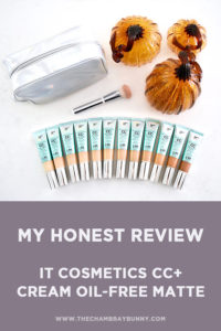 IT Cosmetics CC+ Cream Oil-Free Matte Review