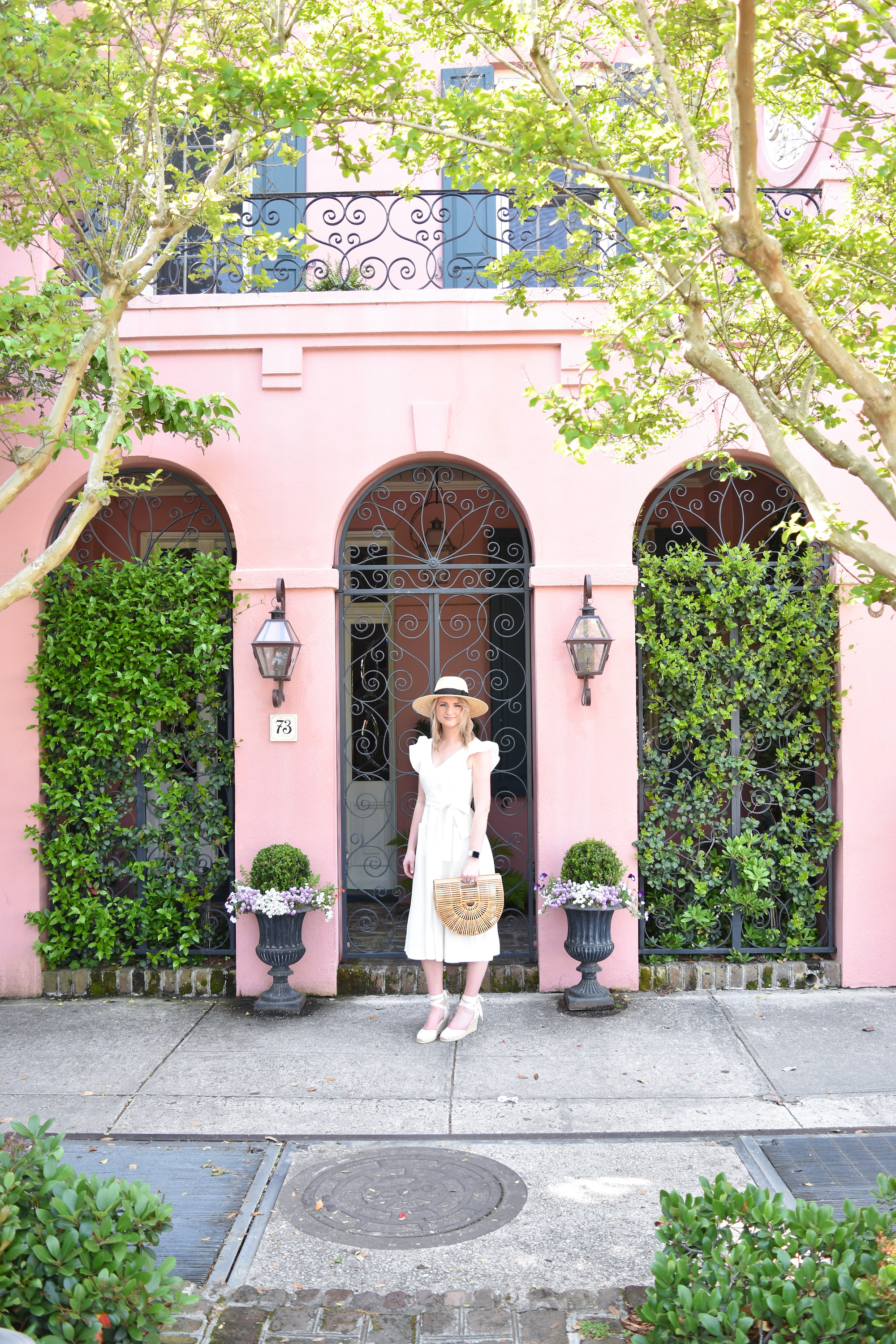 Pink House in Charleston Outfit 7 - 73 E Bay Street, Charleston