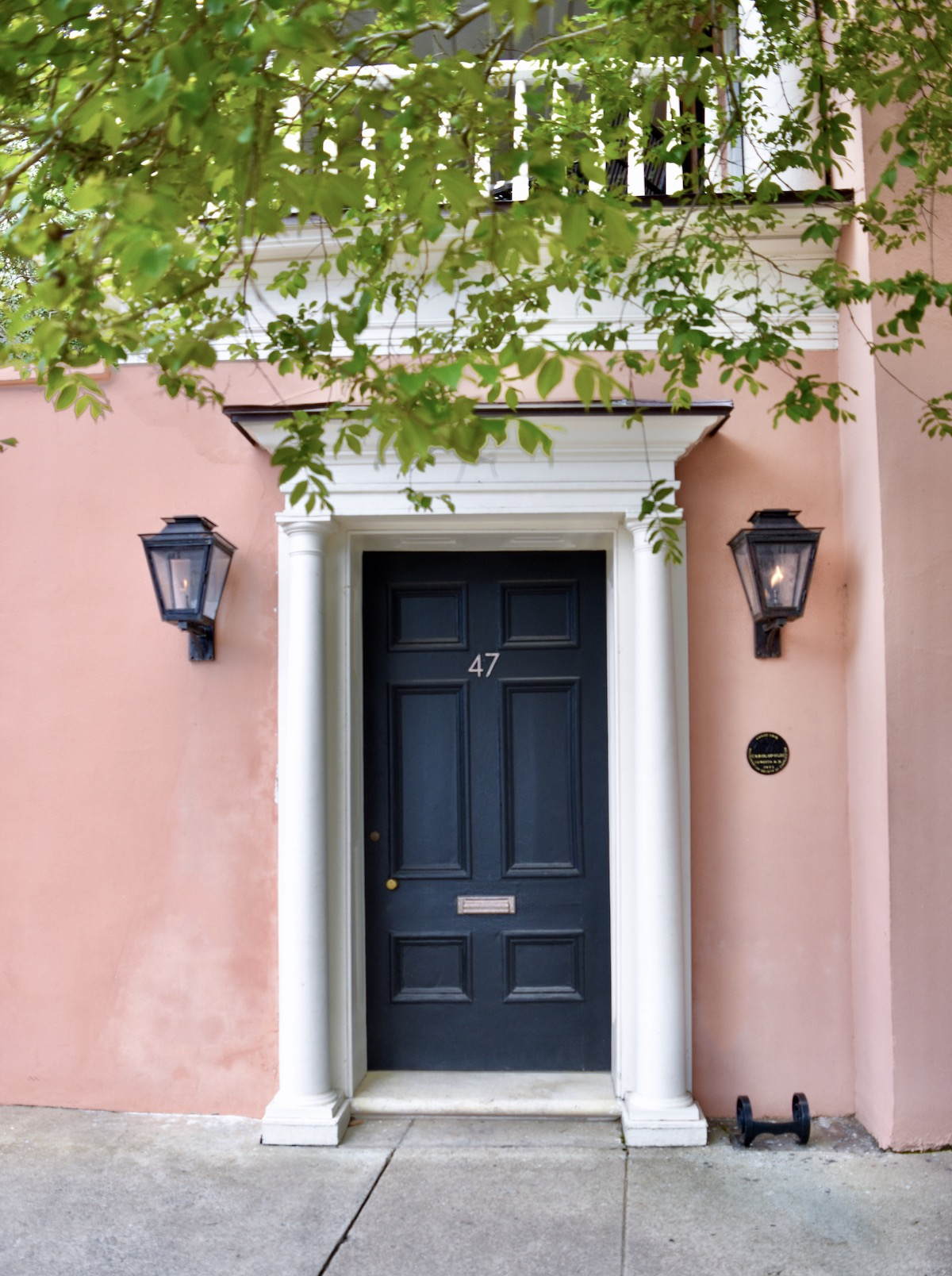 47 E Bay Street, Charleston, SC Coral House Pink House 2