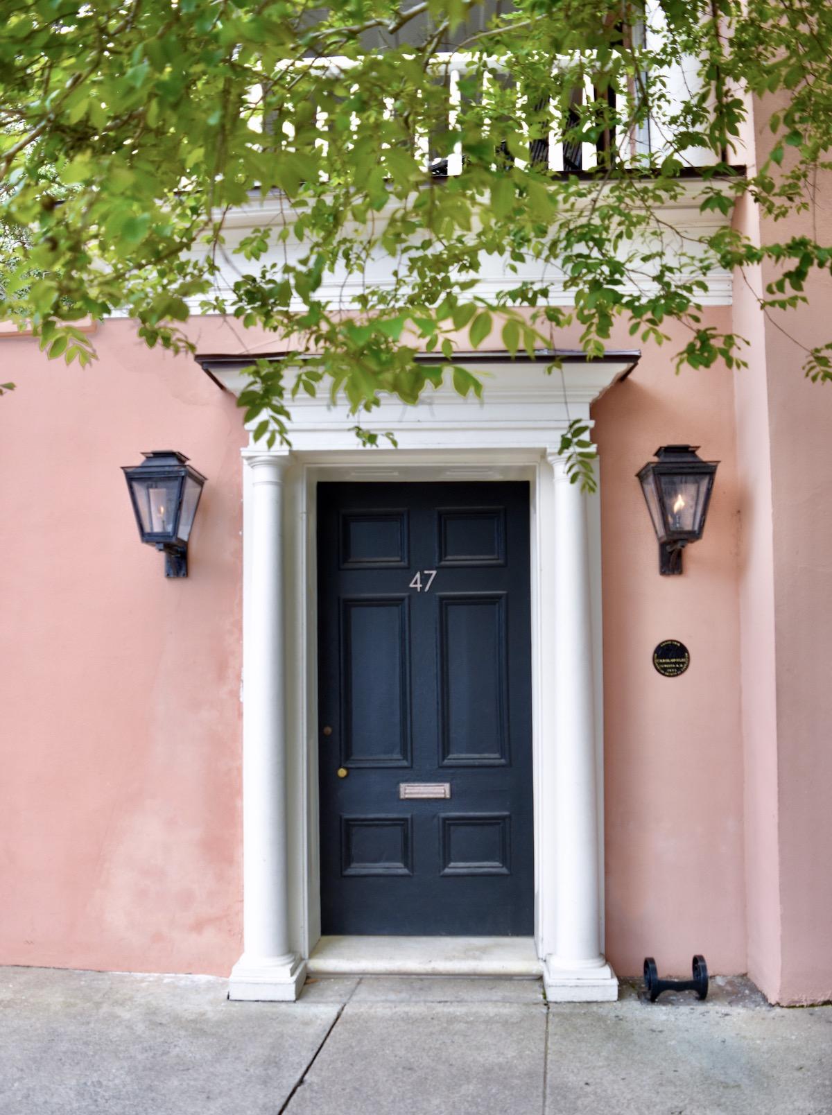 47 E Bay Street, Charleston, SC Coral House Pink House 2