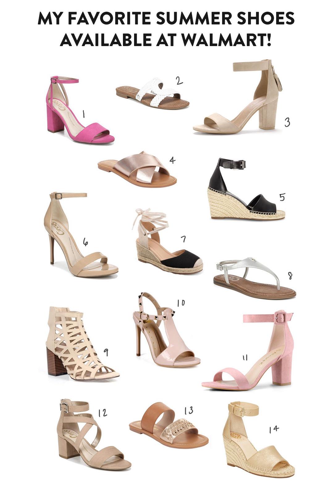 Walmart Fashion Favorite Sandals for Summer
