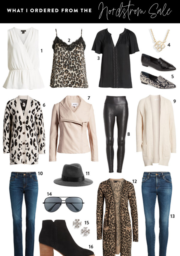 Creating a Capsule Wardrobe from the Nordstrom Sale