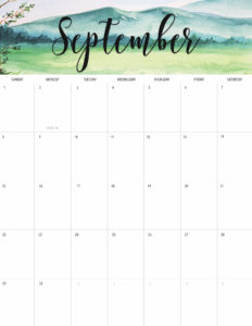 Labor Day Sale Finds + Free September 2019 Printable Calendar!
