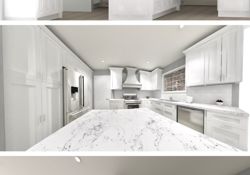 Lily Ann Cabinets 3D Render