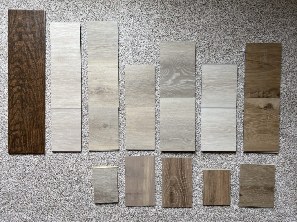 How To Choose Flooring: Looking at Real Samples of Flooring
