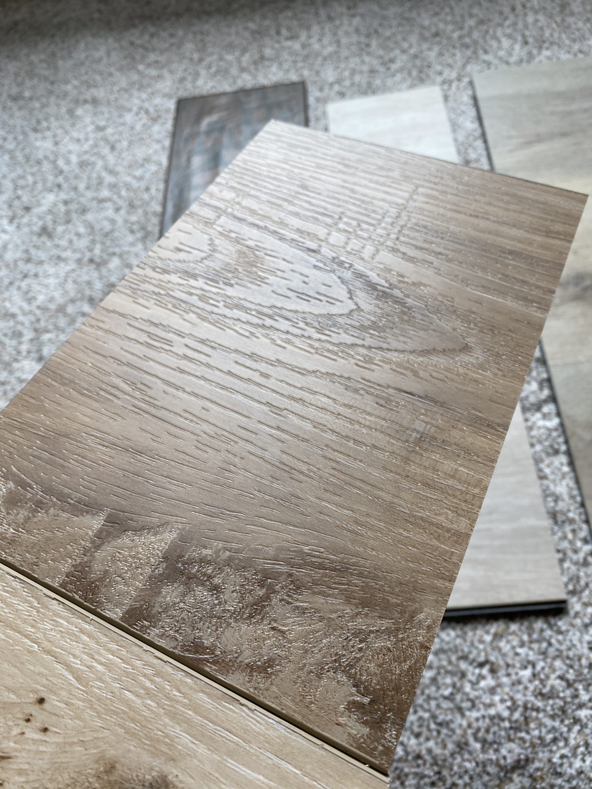 How to Choose Flooring: Cali Seaboard Oak Vinyl Close Up