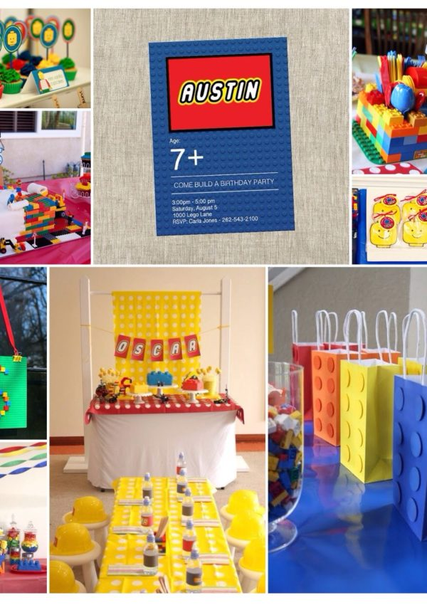 Party Inspiration: Building Blocks