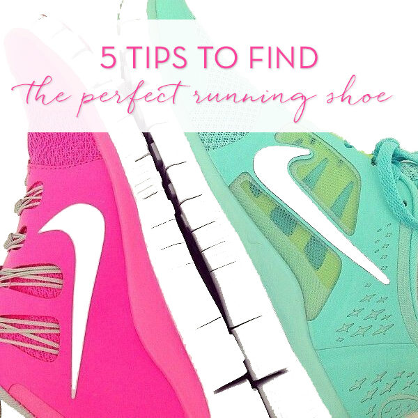 5 Tips To Find The Perfect Running Shoe!