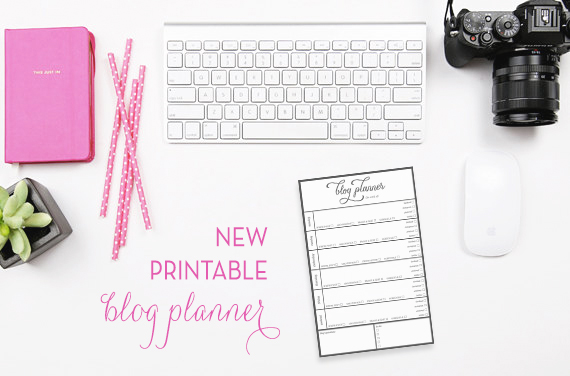 New Printable Blog Planner!