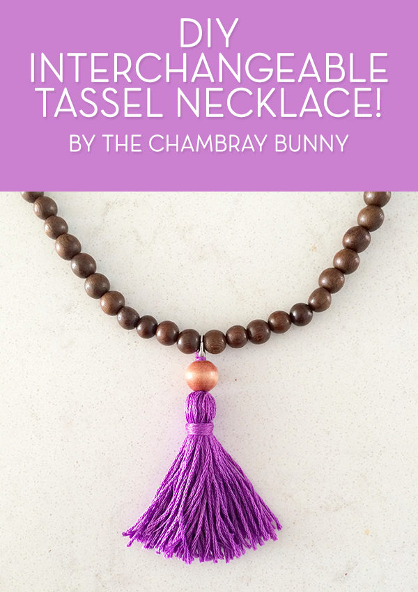 DIY: Boho Chic Interchangeable Tassel Necklace!
