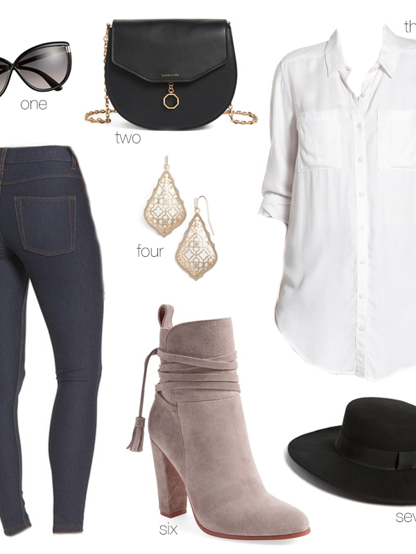Nordstrom Sale Outfit Inspiration #1 – Modern Casual