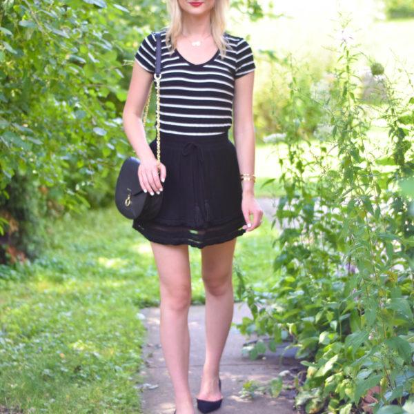 Striped_Tee_Black_Tassel_Skirt_Sam_Edelman_Flats_5