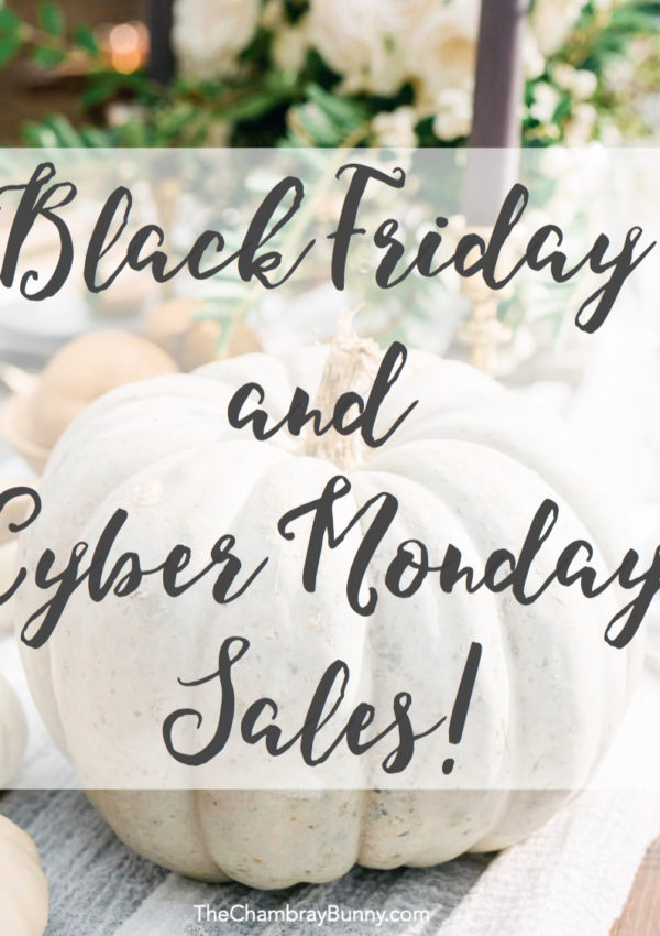 The Best Black Friday & Cyber Monday Sales – 2016