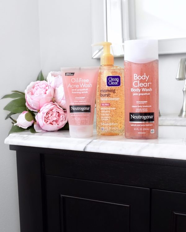 Keep Clear and Confident with Neutrogena and Clean & Clear at Your Local Target