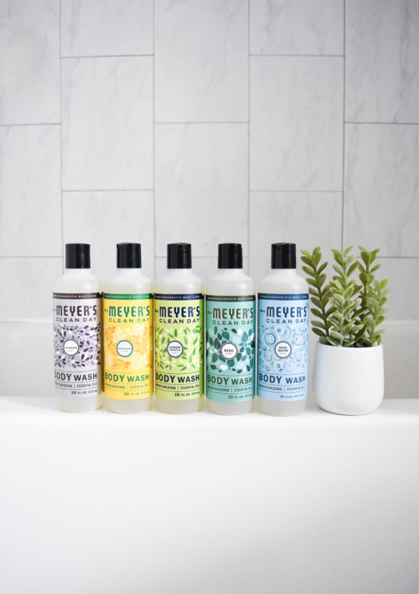 Feeling Fresh with Mrs. Meyer's Clean Day Body Wash