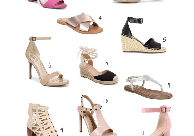 Walmart Fashion Favorite Sandals for Summer