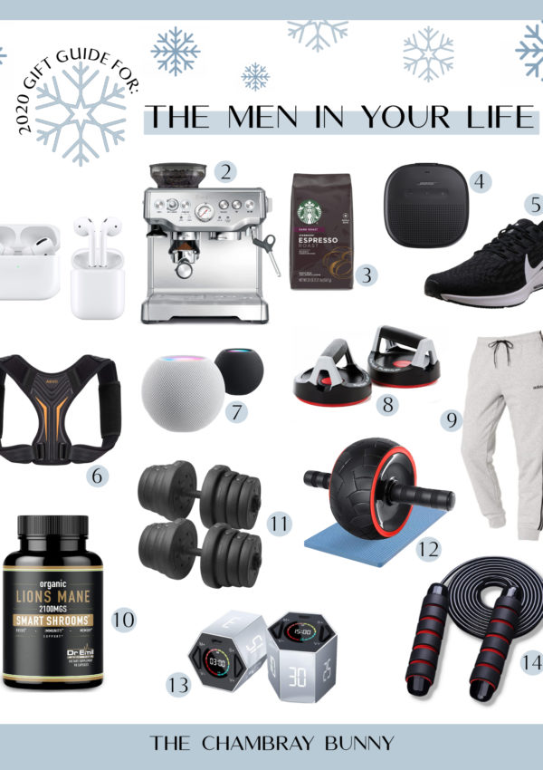 2020 Gift Guide For: The Men in Your Life